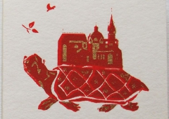 Turtle, Cathedral Aachen